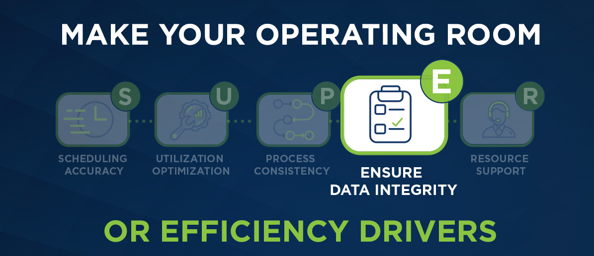 Ensure Data Integrity Graphic